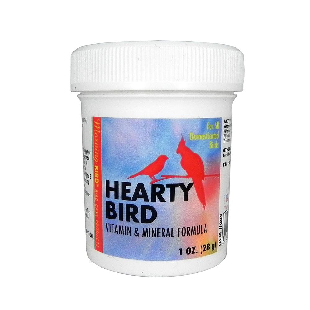 Morning Bird Hearty Bird vitamin and Mineral Powder 1oz