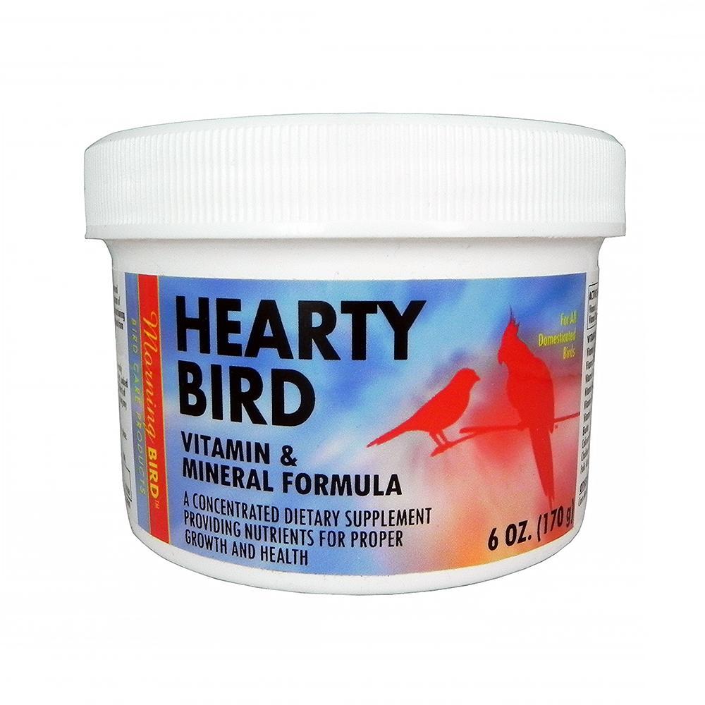 Morning Bird Hearty Bird vitamin and Mineral Powder 6oz