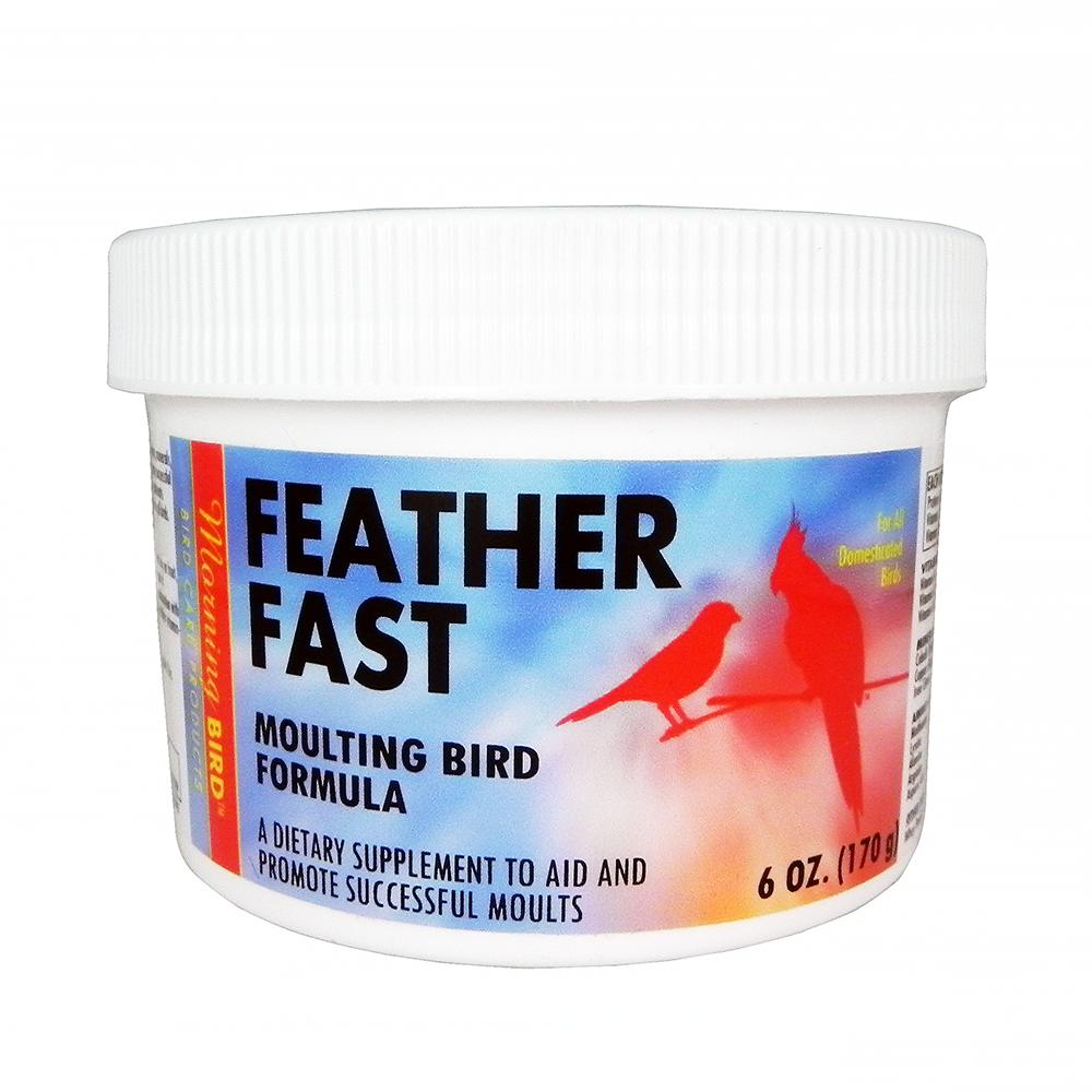 Morning Bird Feather Fast Powder 6oz For Moulting Birds