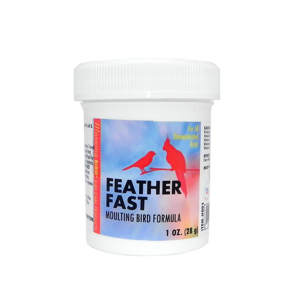 Morning Bird Feather Fast Powder 1oz For Moulting Birds