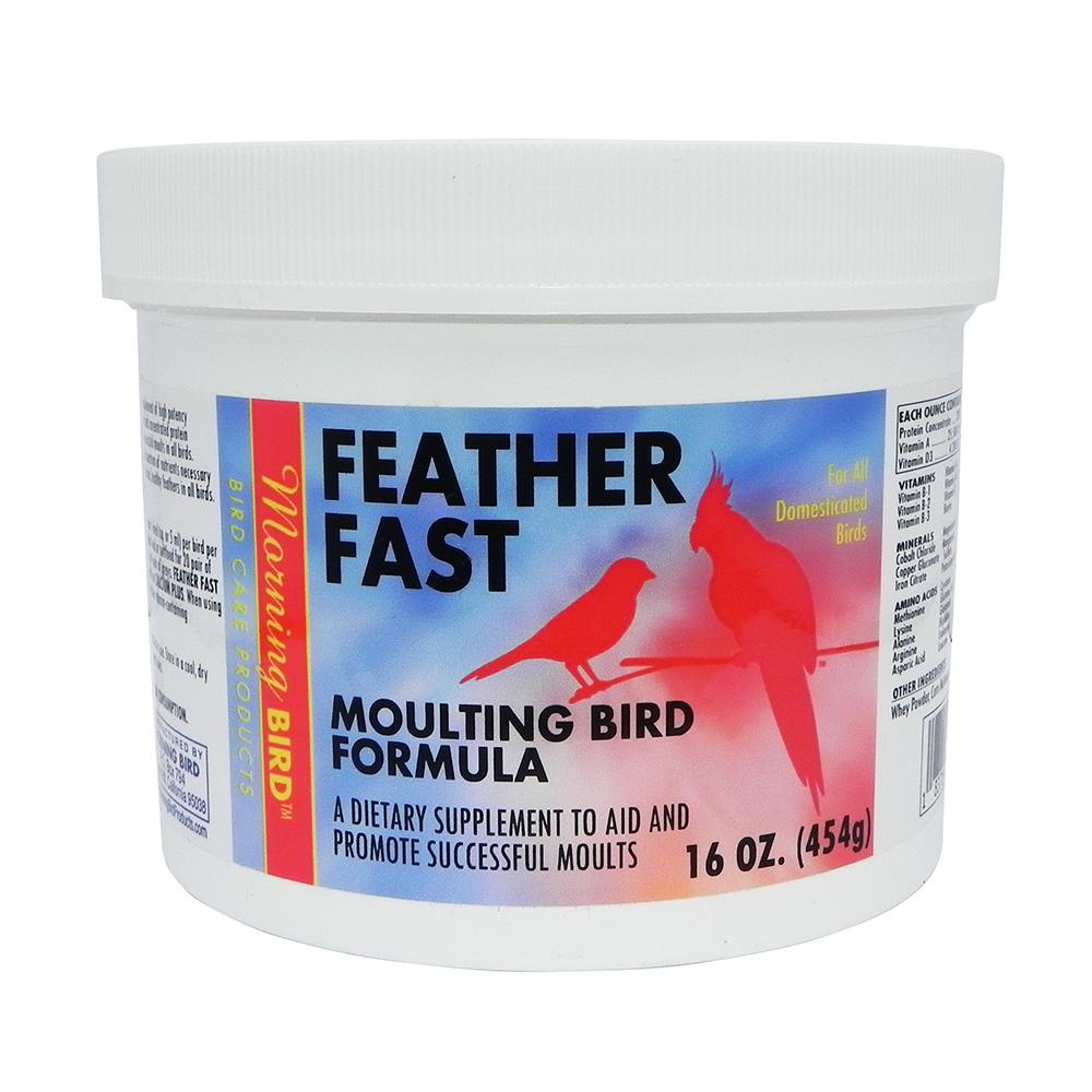 Morning Bird Feather Fast Powder 16oz For Moulting Birds