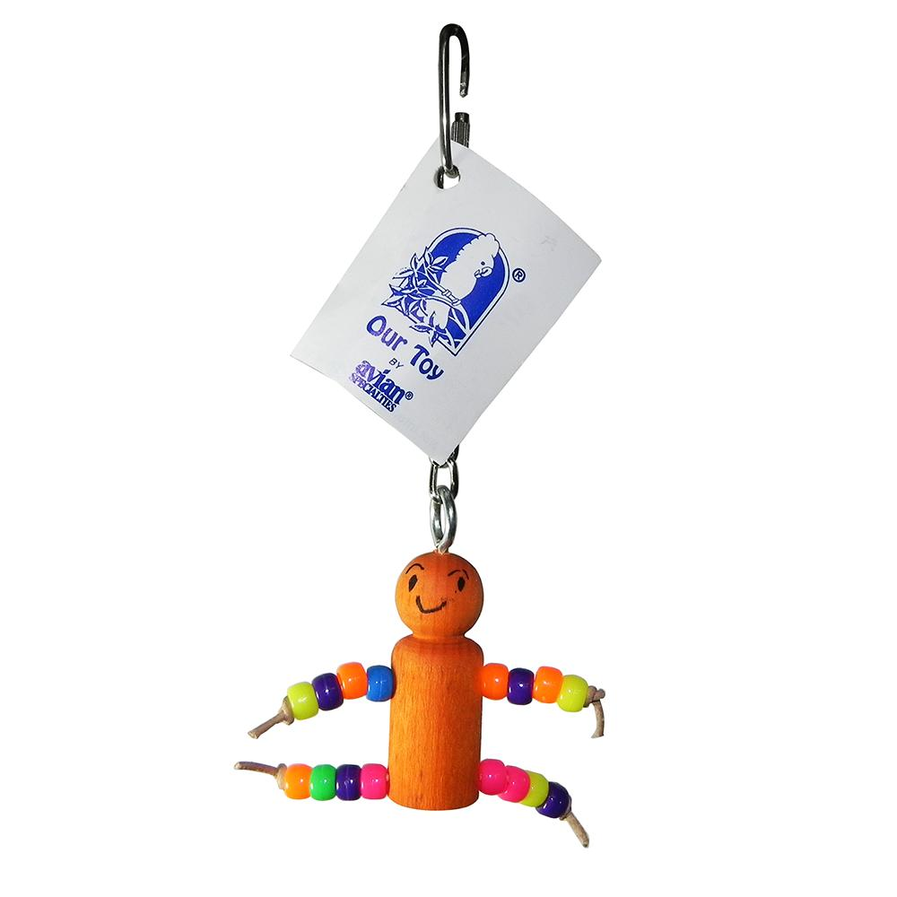 Neon Buddy Made in USA Small Bird Toy