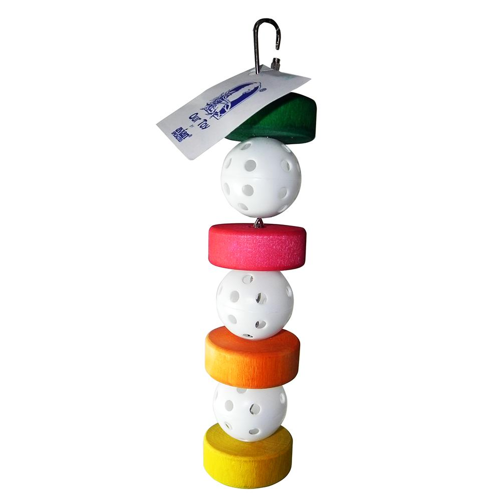 Wheelee Ball Made in USA Medium Bird Toy