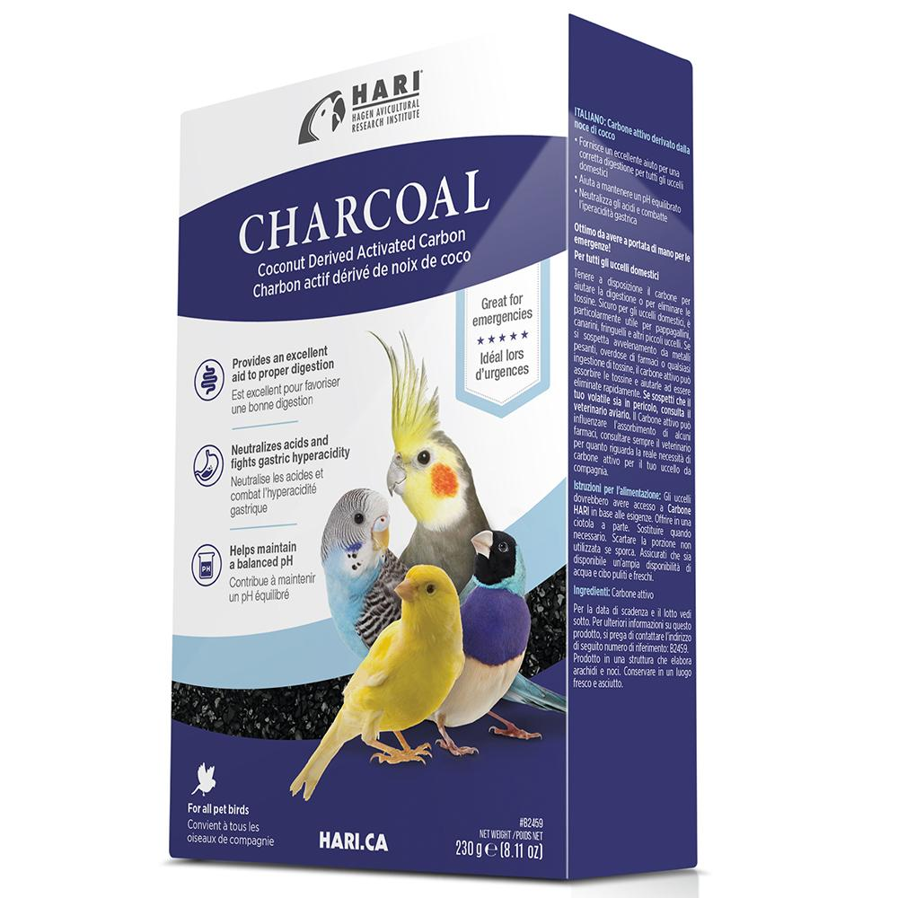 Hagen Ground Charcoal for Birds 8oz (230g)