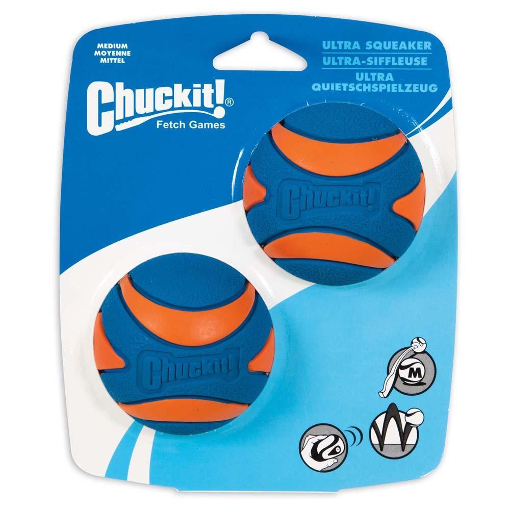 Chuckit! Medium Squeaker Ball 2-Pack