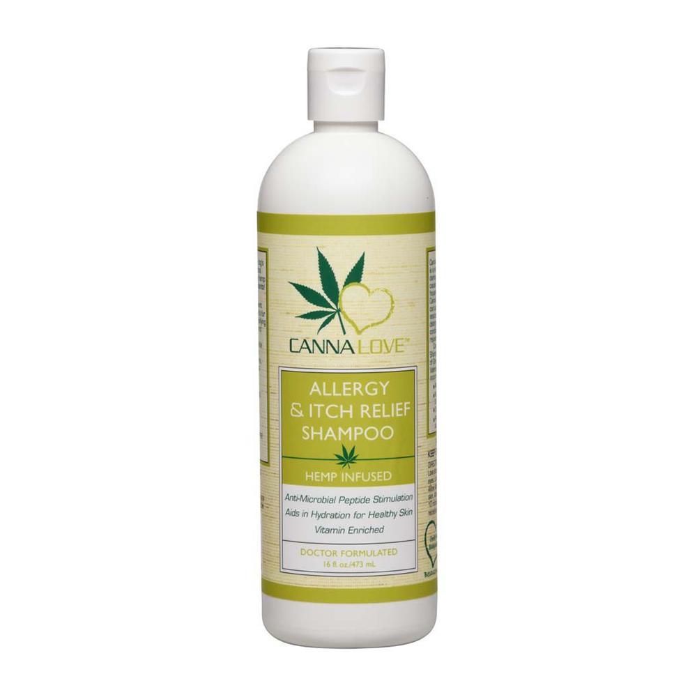 CannaLove Hemp Allergy and Itch Relief Dog Shampoo 16oz