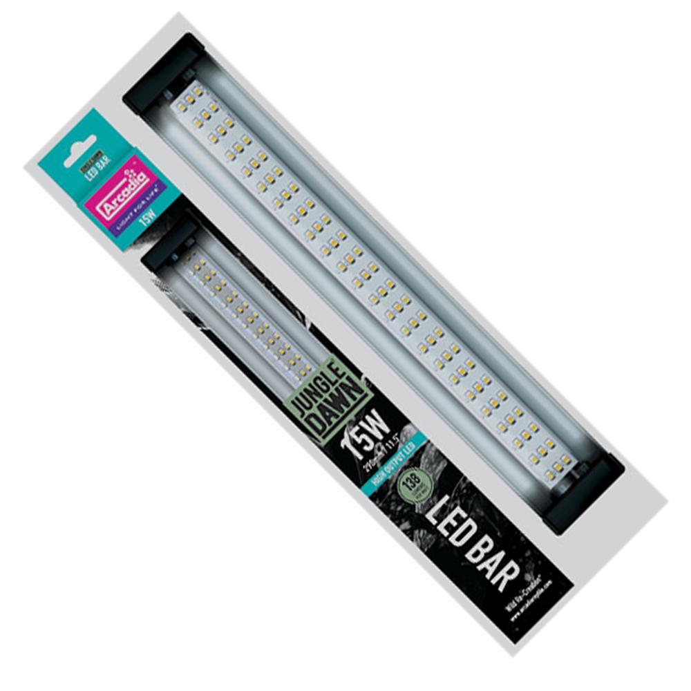Jungle Dawn 15 Watt High Output LED Terrarium Light Bar