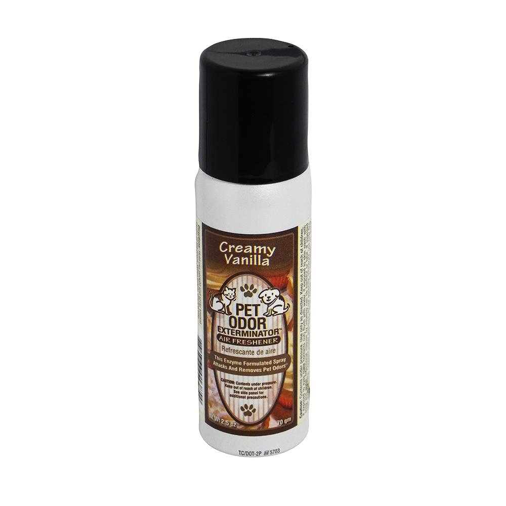 Pet Odor Eliminator Air Freshener Creamy Vanilla 2.5oz.