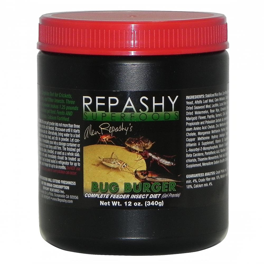 Repashy Bug Burger Feeder Insect Diet 12oz