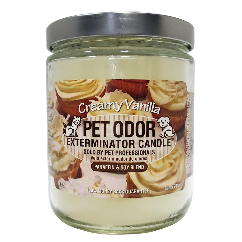 Pet Odor Eliminator Creamy Vanillaf Candle