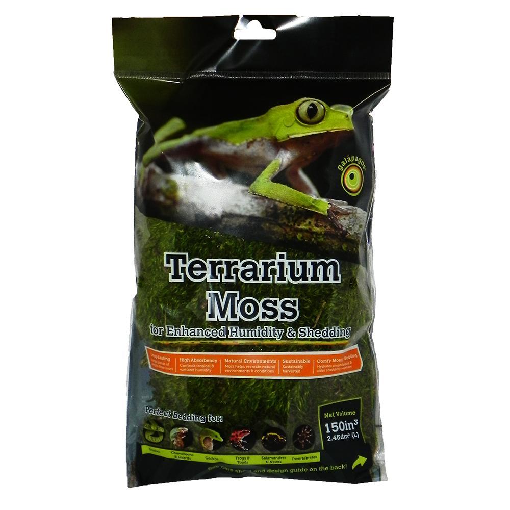 Galapagos Royal Pillow Moss for Reptiles and Amphibians 150c