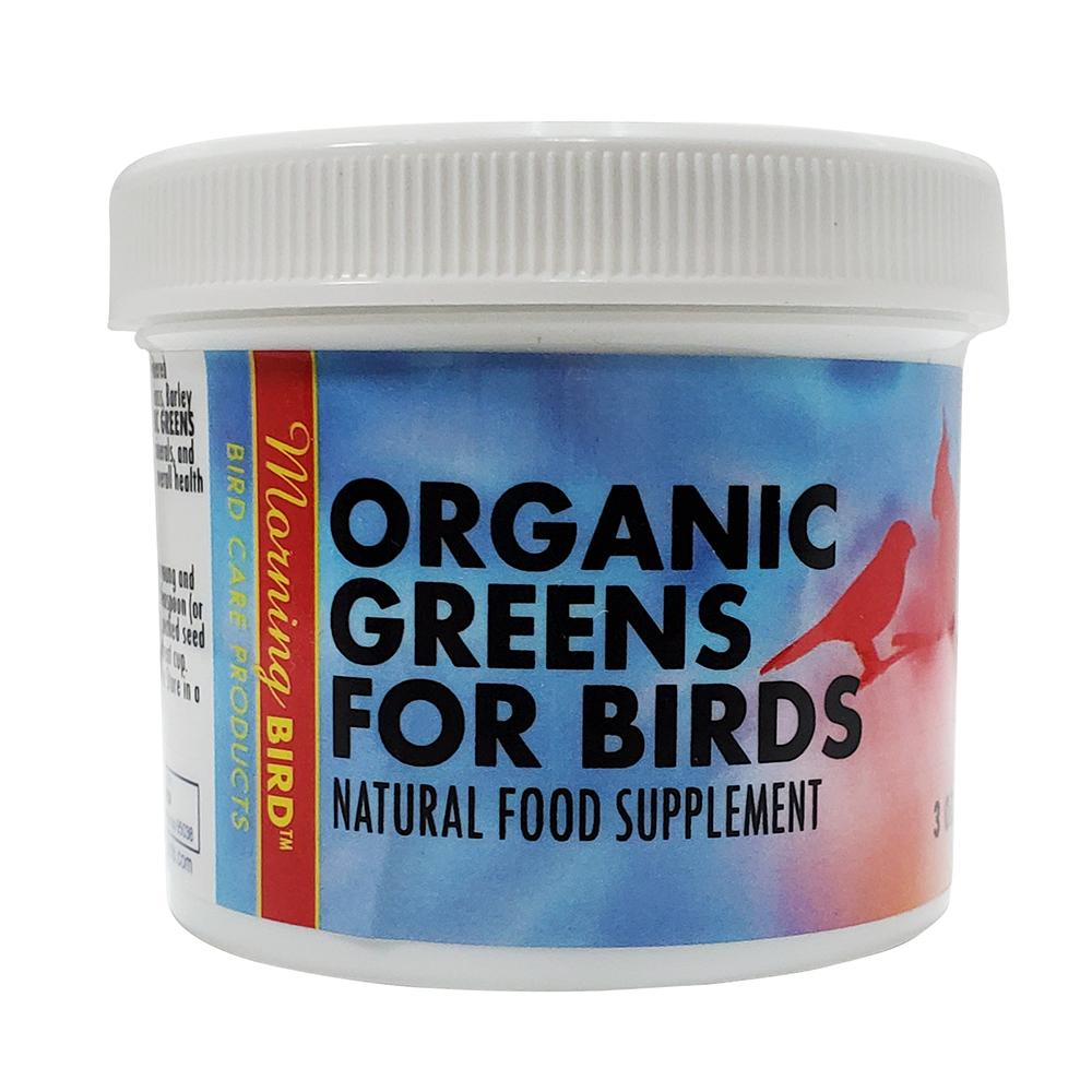 Morning Bird Organic Bird Greens Supplement for Birds 3oz