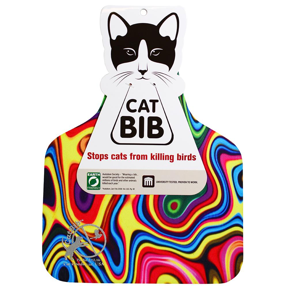 CatBib WildBird Saver Rainbow Big