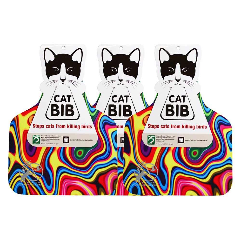 CatBib WildBird Saver Rainbow Big 3 pack