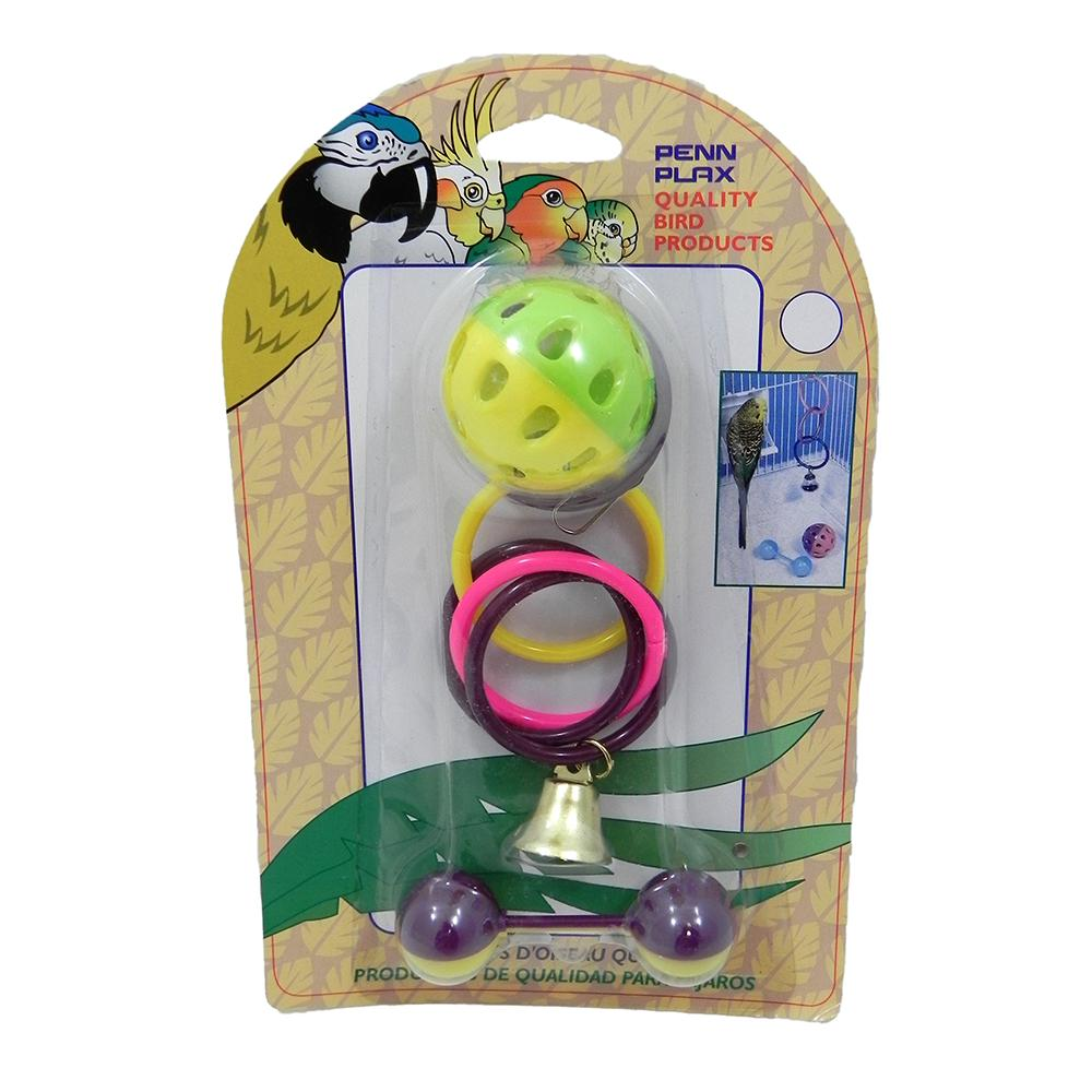 Penn Plax Olympic Sport Kit Bird Toy