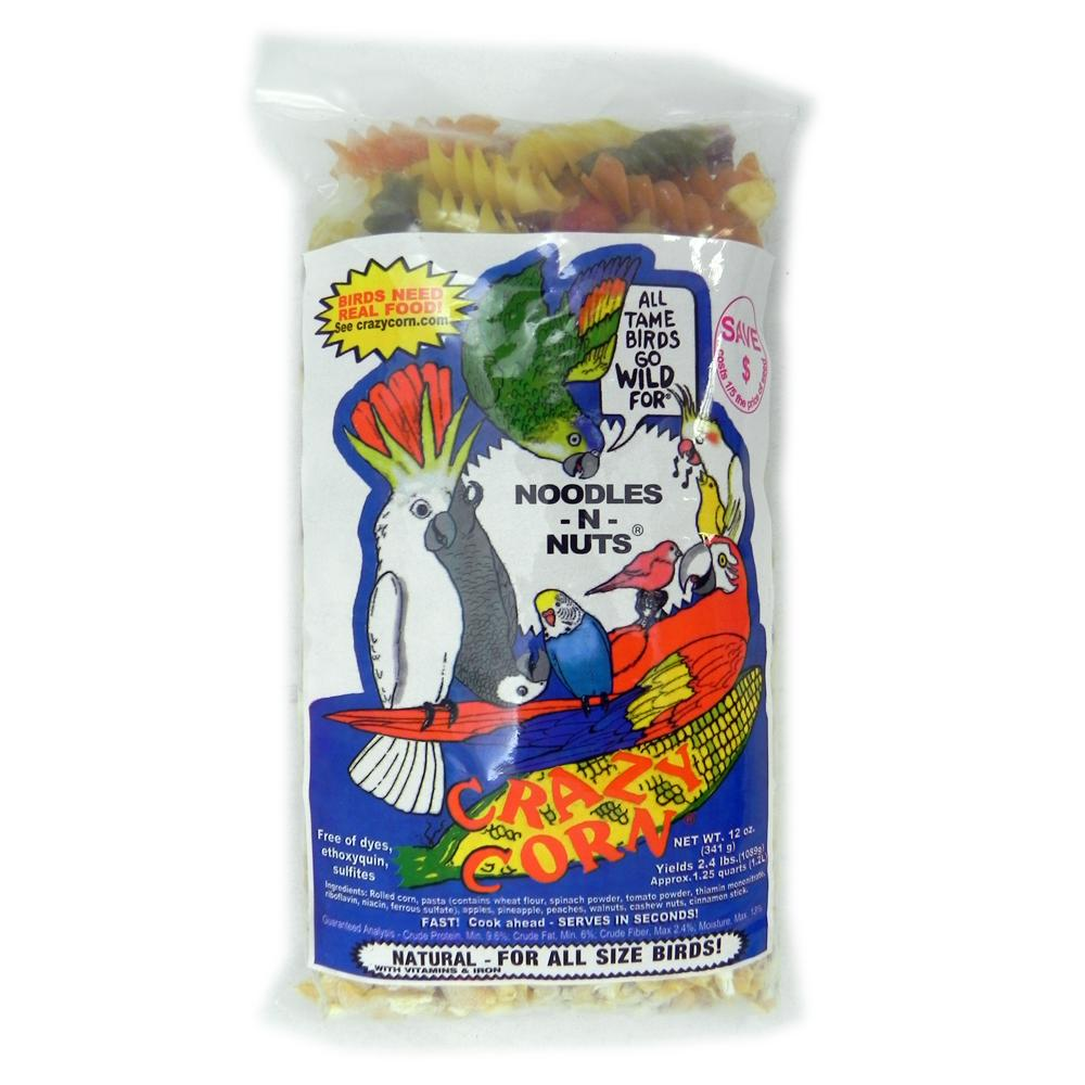 Crazy Corn Noodles/Nuts 12 ounce DISCONTINUED