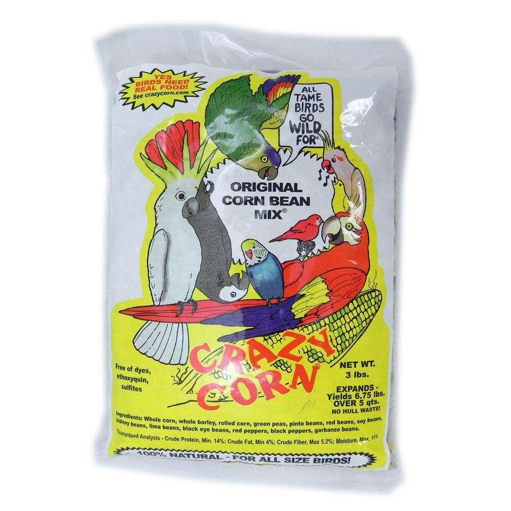Crazy Corn Original Corn N Beans 3 pound Bird Food