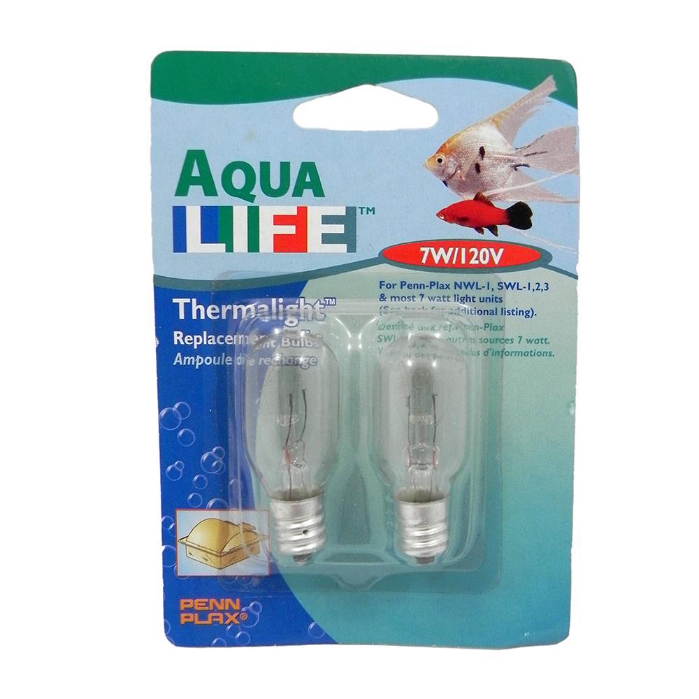 Thermalight 7watt Aquarium Light Bulbs 2-Pack
