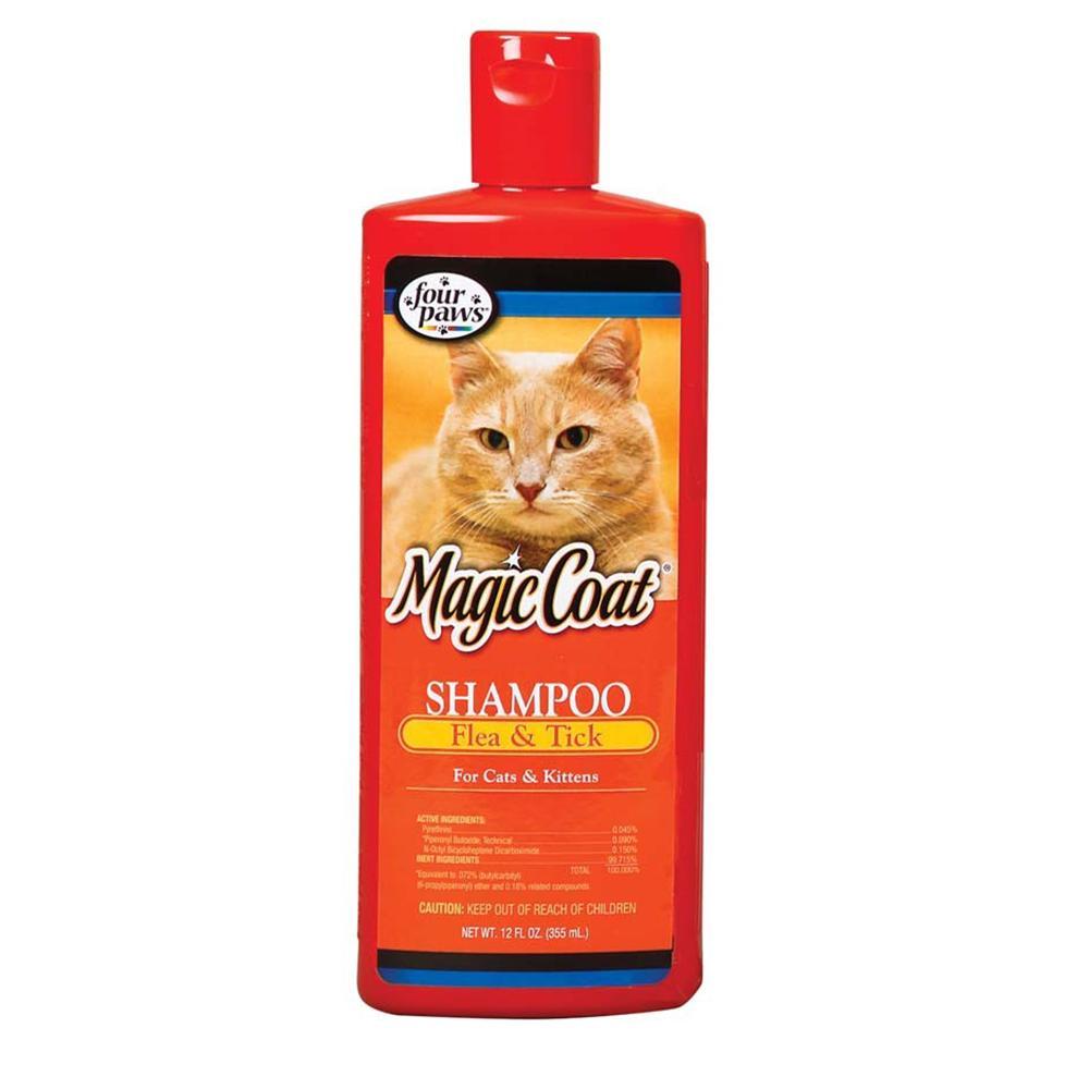 Four Paws MagicCoat Cat Flea & Tick Shampoo