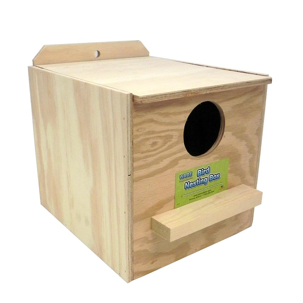 Cockatiel Nest Box Inside of Cage Regular