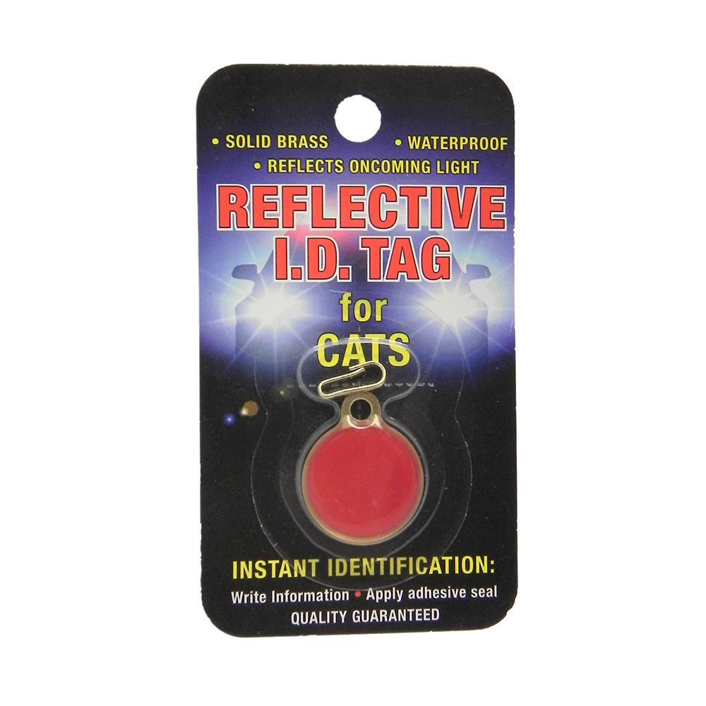 Coastal Safety Pet ID Tag Reflective Cat