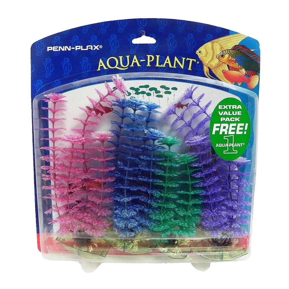 Family Pack Pearl Plastic Aquarium Plant