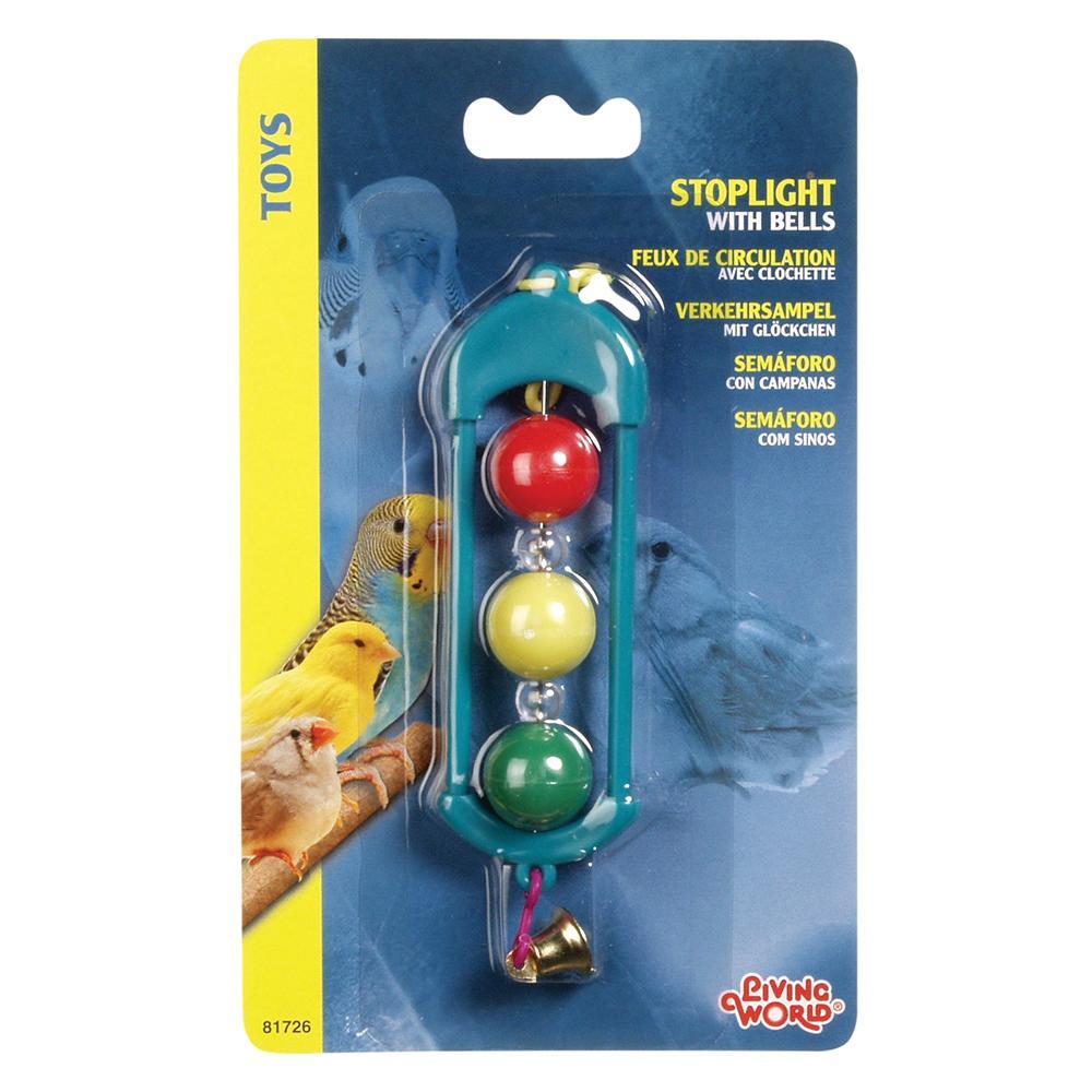 Living World Stoplight w/Bell Bird Toy