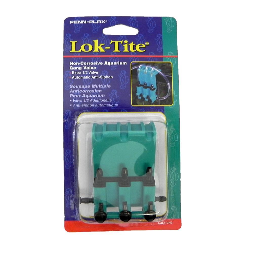 Lok-Tite  Non-Corrosive Aquarium 3 Gang Air Valve