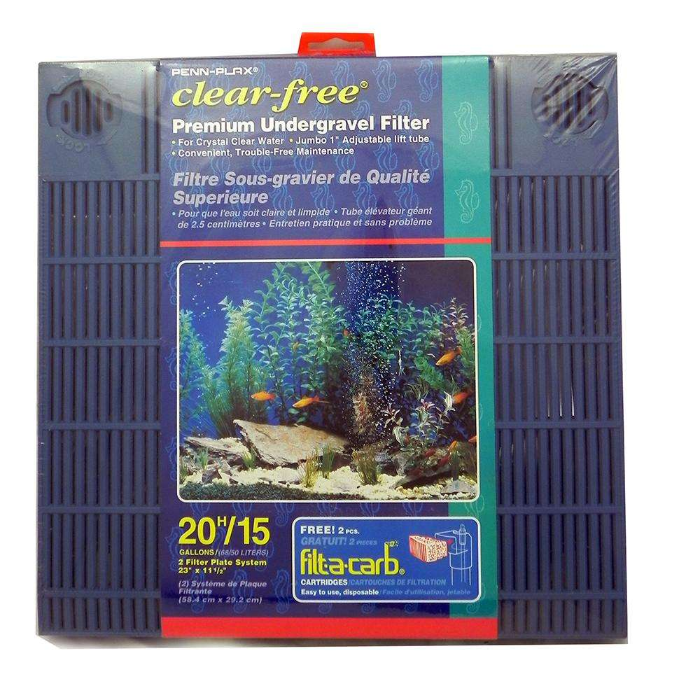 Undergravel Aquarium Filter 20H/15 Gallon