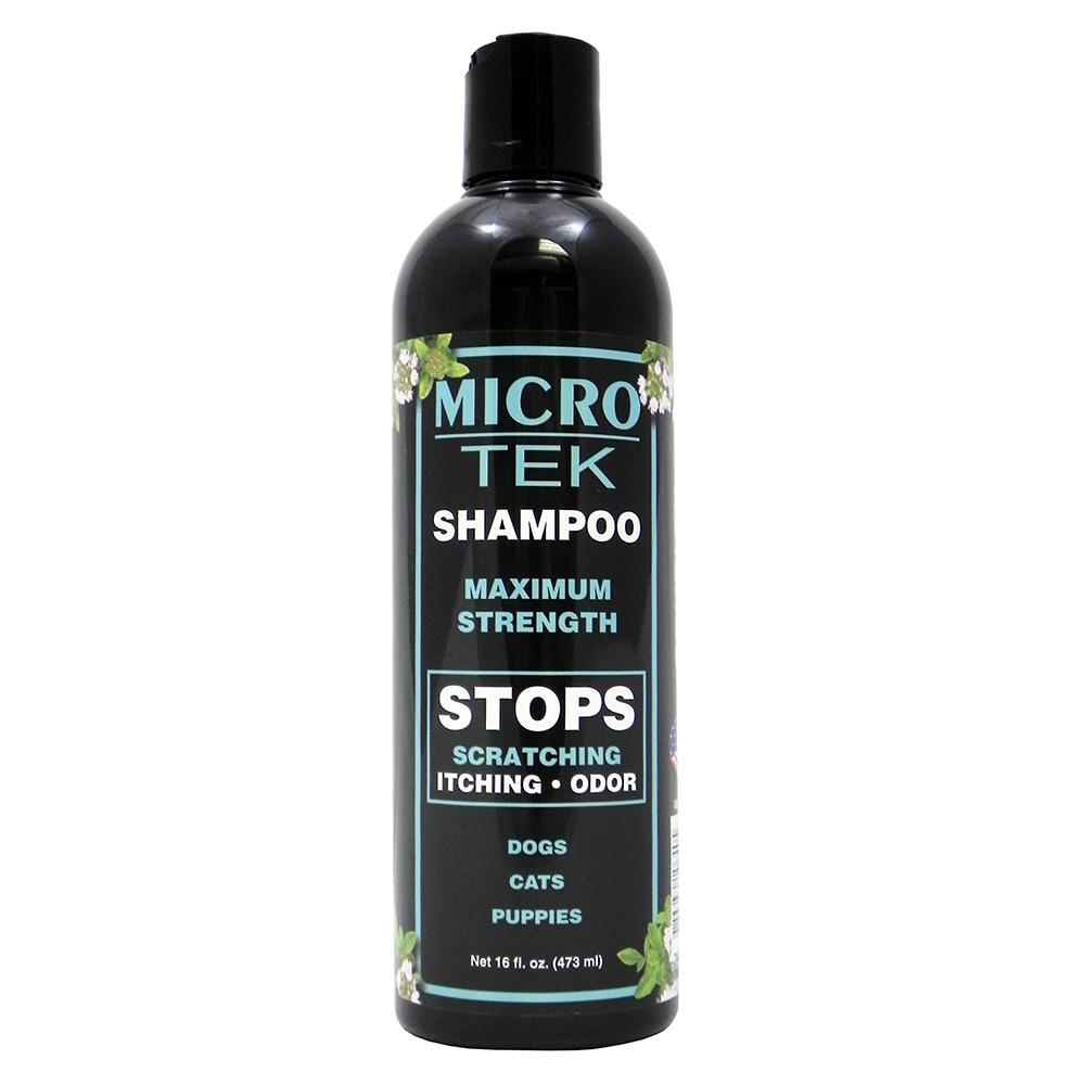 EQyss Micro-Tek Pet Skin Relief Shampoo 16 oz