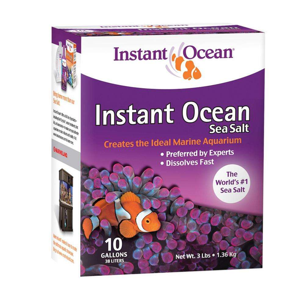 Aquarium Systems Instant Ocean Salt Granuals 10 gallon