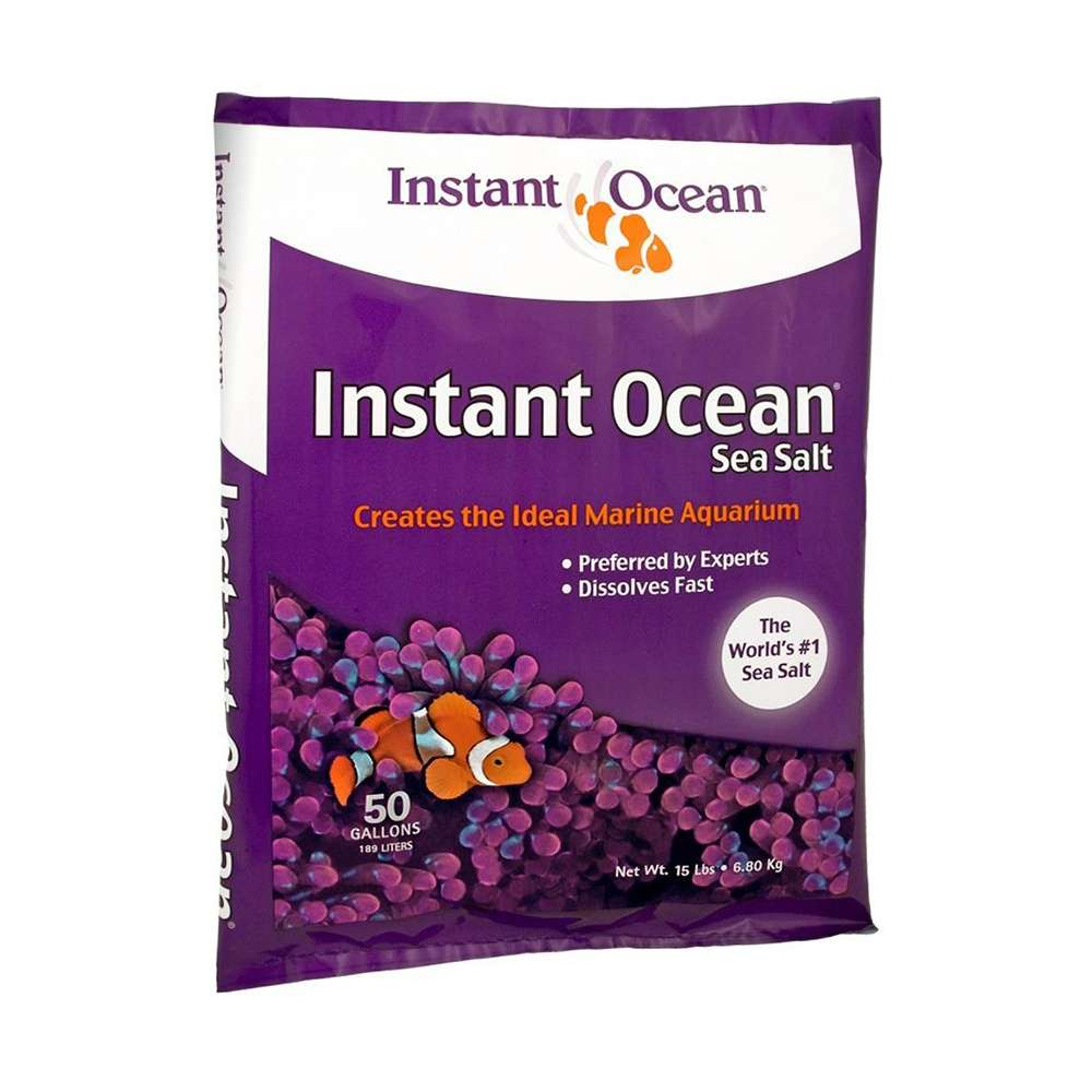Aquarium Systems Instant Ocean Salt 50 gallon