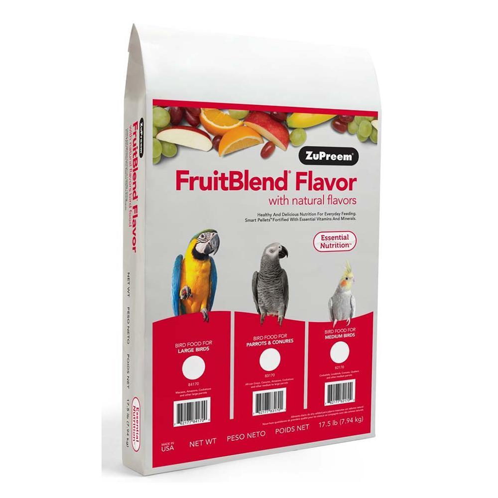 ZuPreem Fruit Blend Parrot Food 17.5 pound