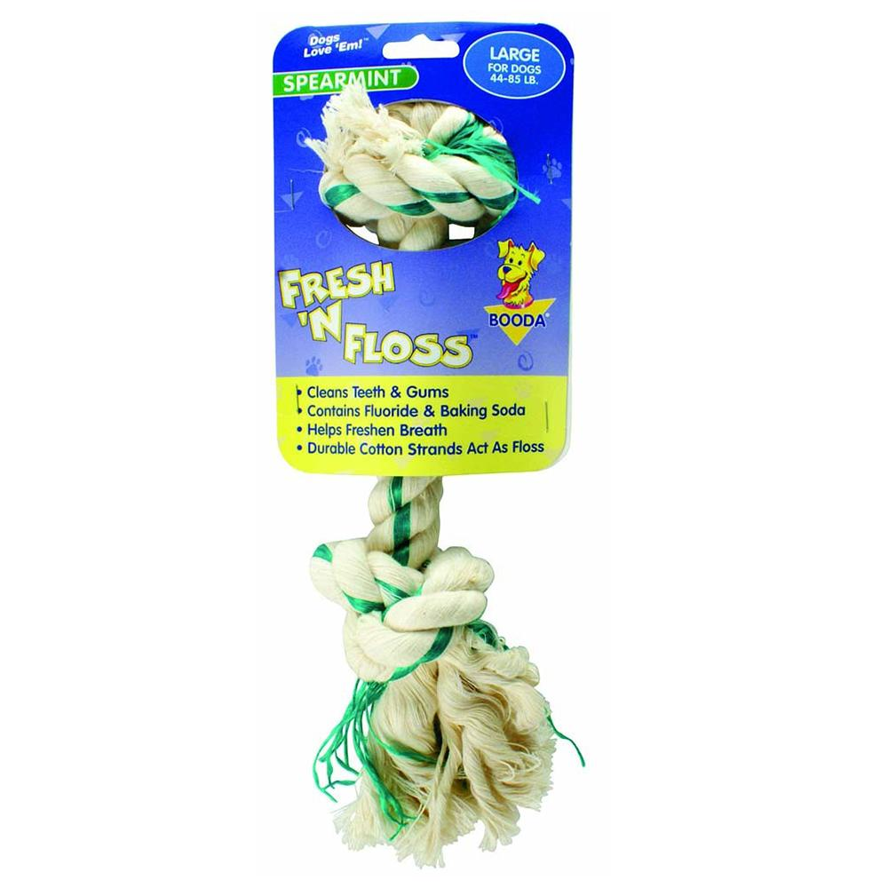 Booda Fresh 'N' Floss Large Dog Chew Toy