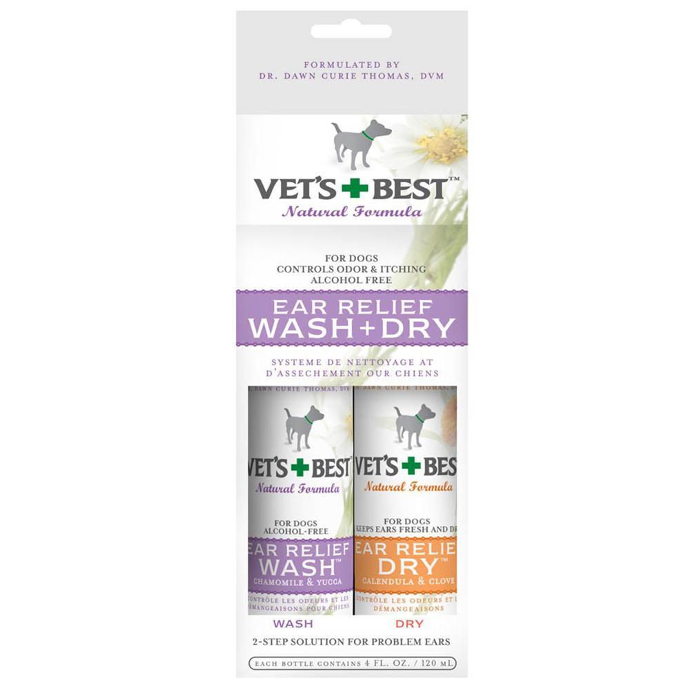 Vets Best Dog Ear Relief Kit