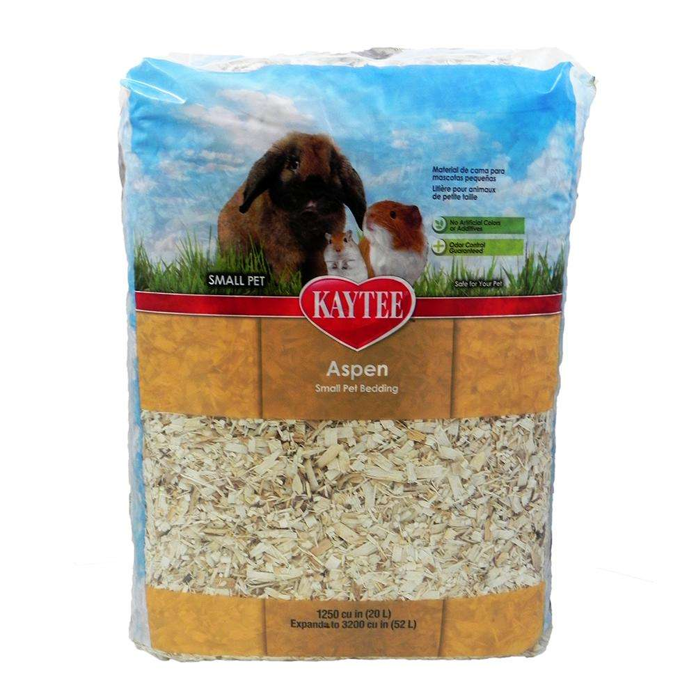 Aspen Shavings Small Animal Bedding&Litter 3200 cu in