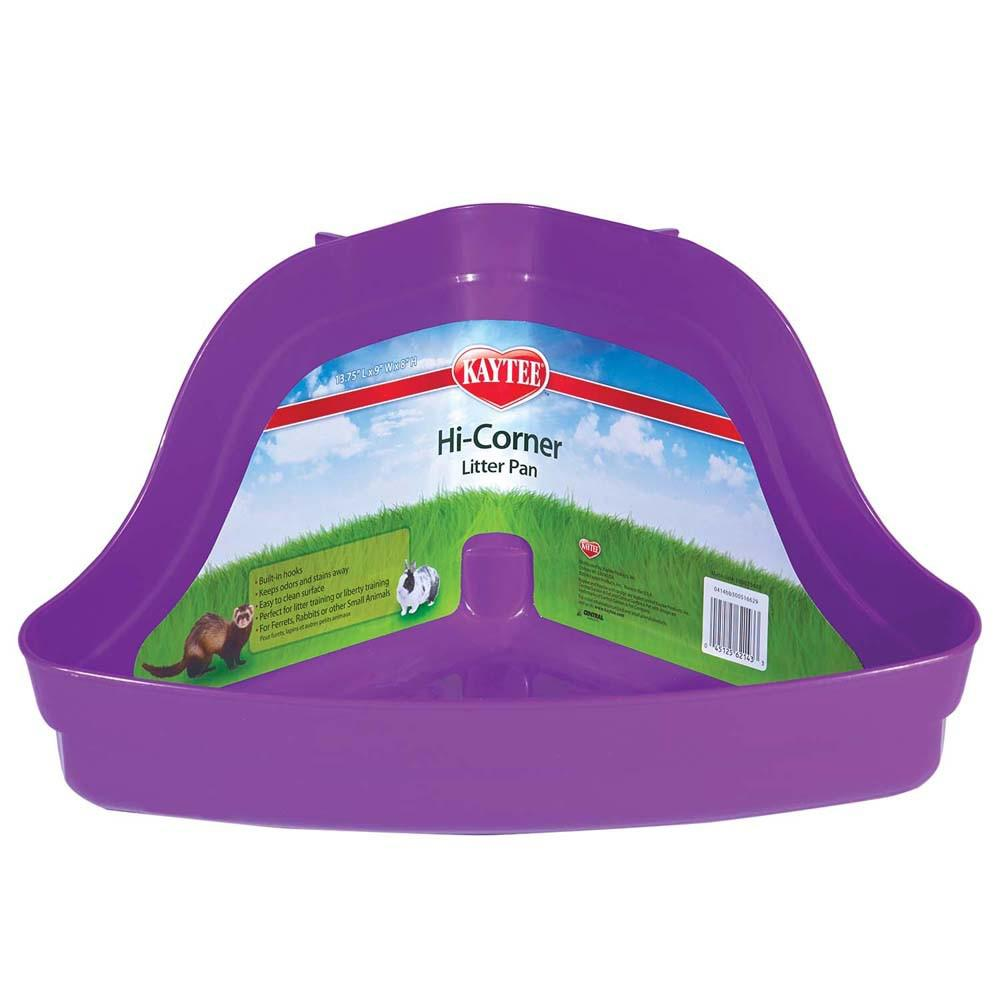 Hi Corner Small Animal Litter Pan