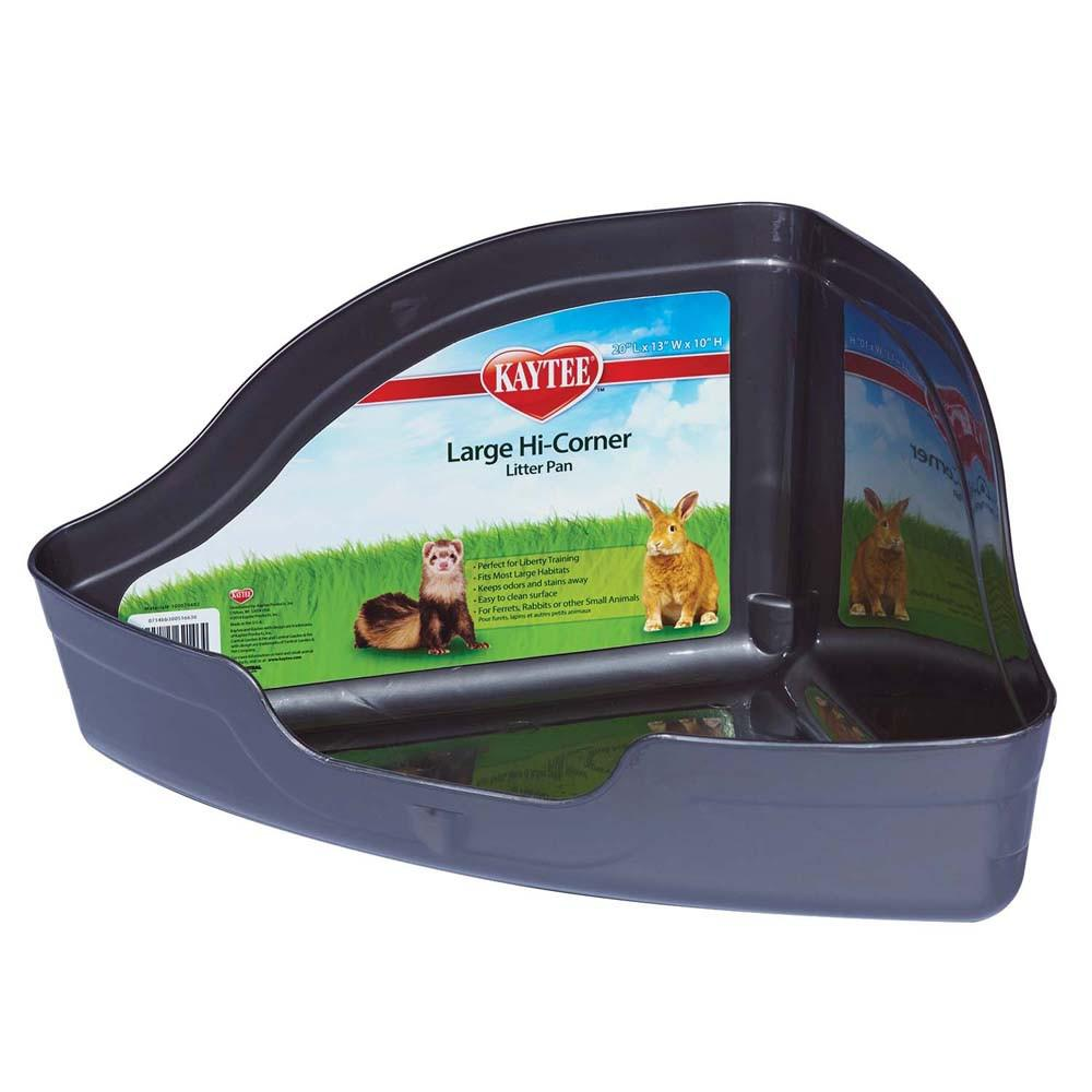 Hi Corner Small Animal Litter Pan Large