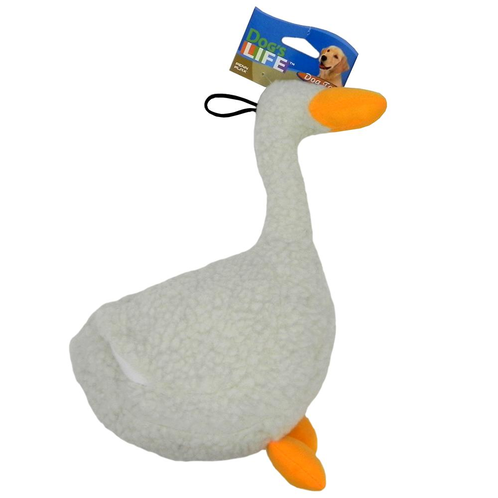 Soft Dog Toy Fleece Duck