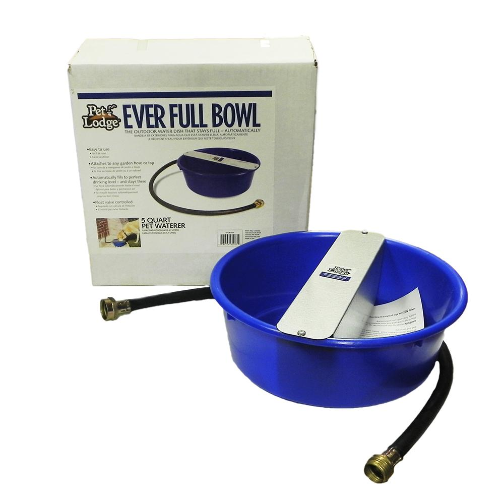 Ever Full Bowl Automatic Dog Watering Pan 5 Quart