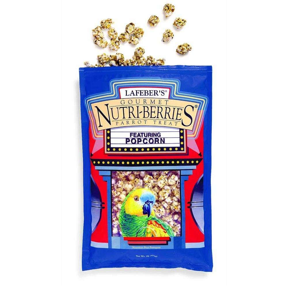 Lafeber Gourmet Treat Nutri-Berries Popcorn Parrot Treat