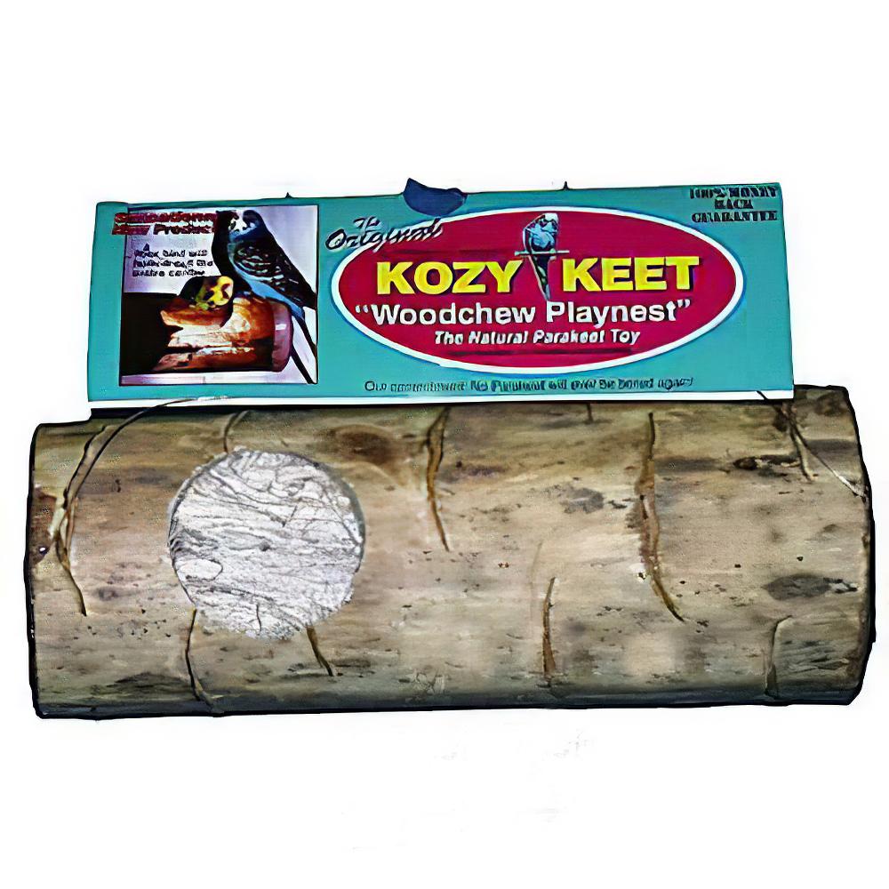 Kozy Keet Log Bird Toy