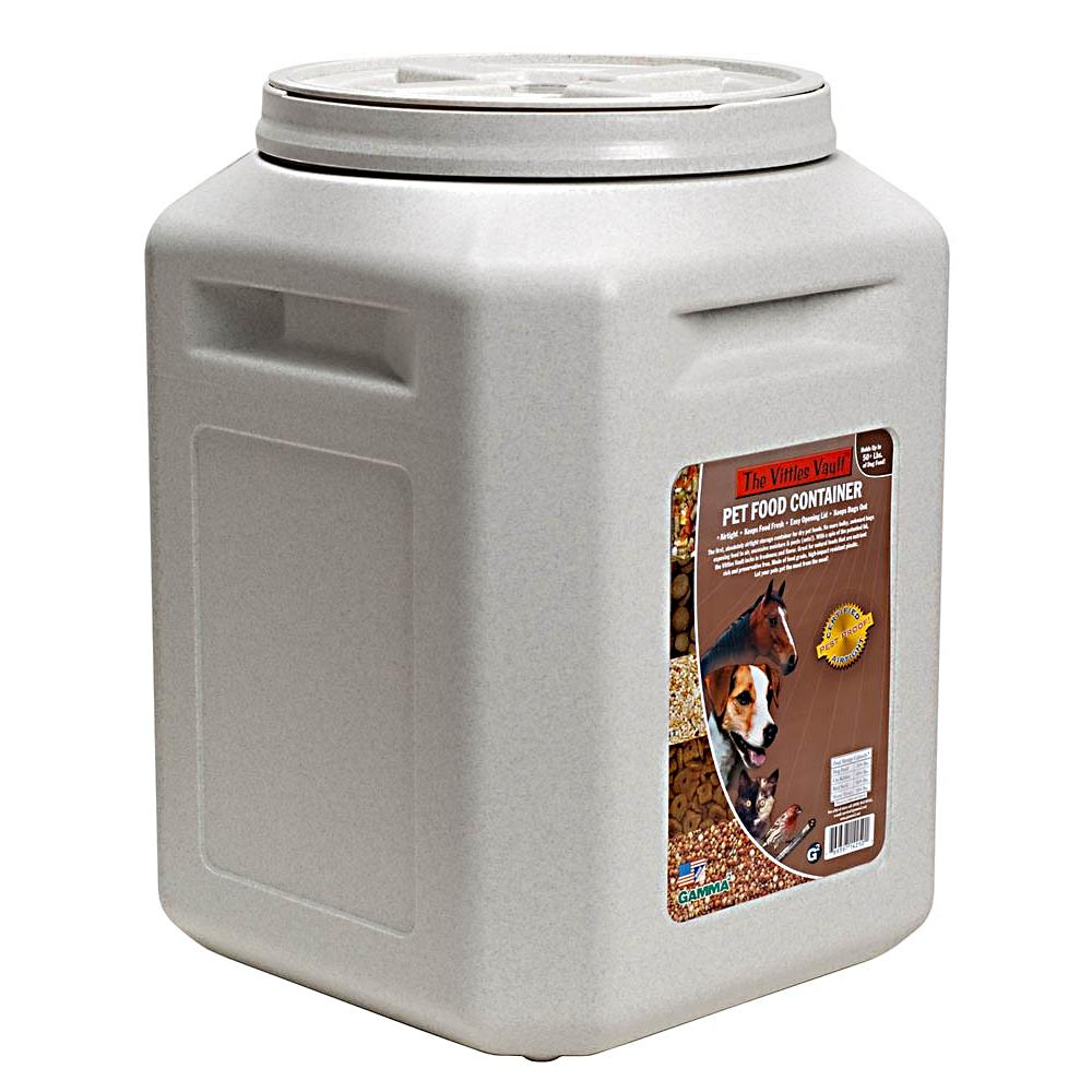Gamma Vittles Vault 50 pound Pet Food Storage Container Dog Food
