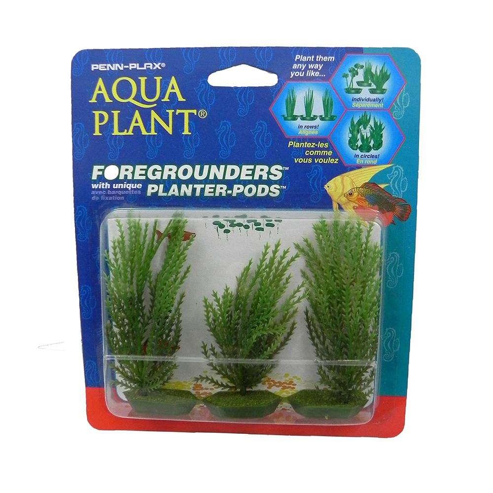 Willowmoss 3 pod Plastic Aquarium Plant