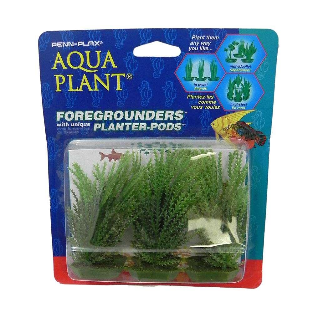 Willowmoss 6 pod Plastic Aquarium Plant