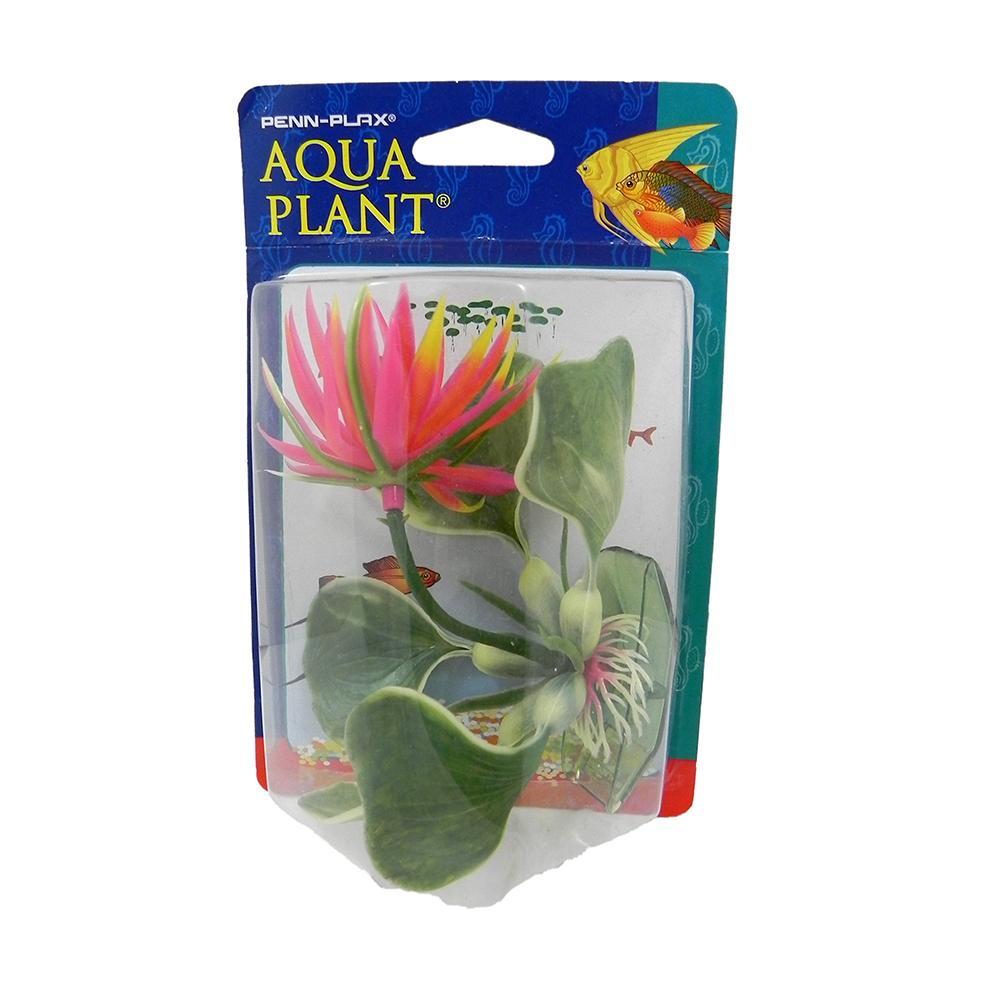 Red Hyacinth Bottom Plastic Aquarium Plant