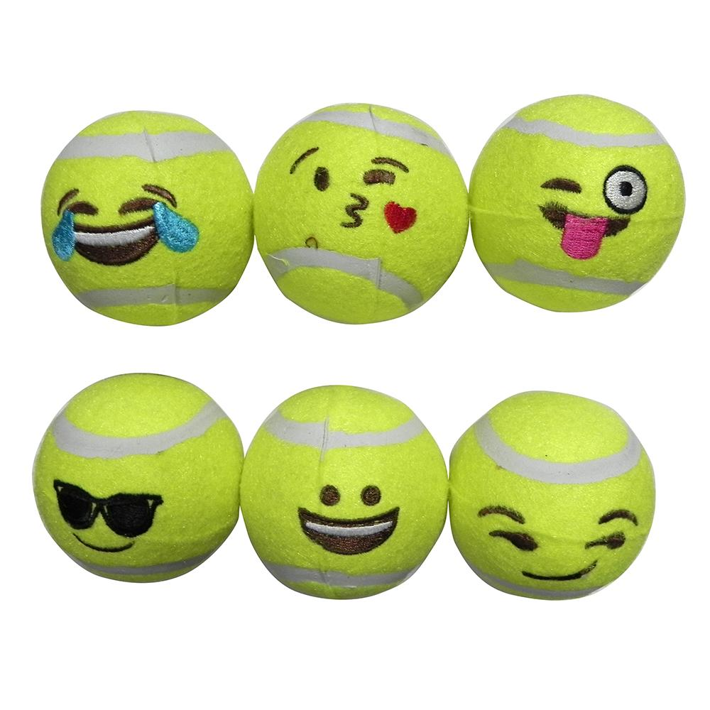 Tennis Ball 6 Pack Dog Toy