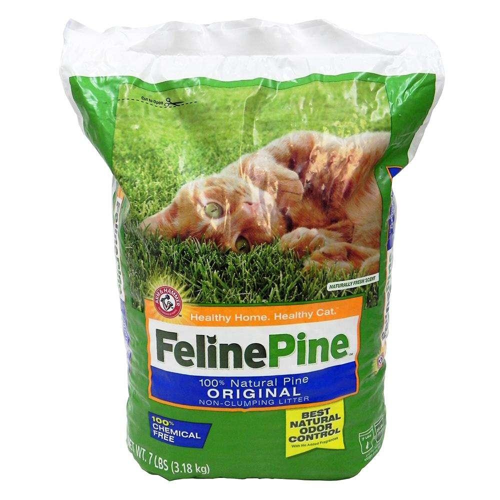 Feline Pine Cat Litter 7 Lb