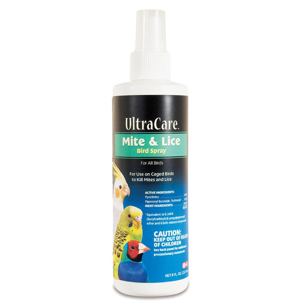 8-1 Mite & Lice Spray for Birds