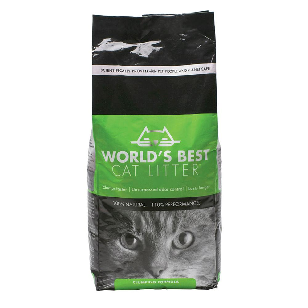 World's Best Cat Litter Clumping Formula 14 Lb